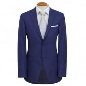 Κουστούμι Γαμπριάτικο Καρό Στενή Γραμμή 29538-4 Μπλε