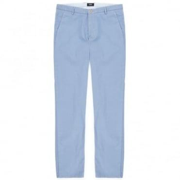 Παντελόνι Chinos με Δίχρωμες Λεπτομέρειες Στενή Γραμμή Rice1-7-W 50284654 Σιέλ
