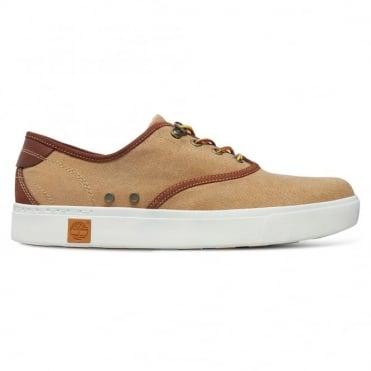 Παπούτσι Sneaker με Διχρωμίες Amherst Oxford Α15KC Μπεζ