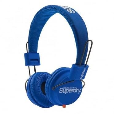 Ακουστικά Κεφαλής Ενσύρματα US9EW078 Μπλε