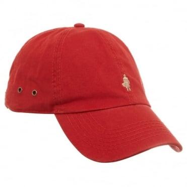 Καπέλο Jockey Μονόχρωμο MLMB001100 E008 Κόκκινο