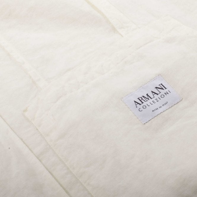 5c51c9b2798c Armani Jeans Σακάκι Στενή Γραμμή Λευκό D6N01BA-10