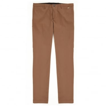 Slim fit Chino Trousers C-Stanino1W Brown