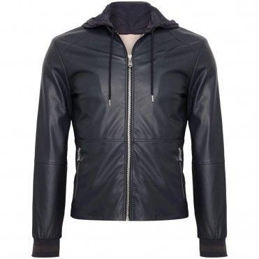 Trussardi Jeans Μπουφαν Eco-Leather Στενή Γραμμή 2d04f3aad7b