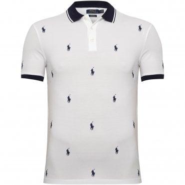 bcd771ebe6ca Λευκό Ralph Lauren Polo Μπλούζεςστο MOUSOULIS