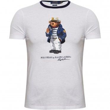 0e4d02670803 Ralph Lauren Bear T-Shirt με Στάμπα Στενή Γραμμή