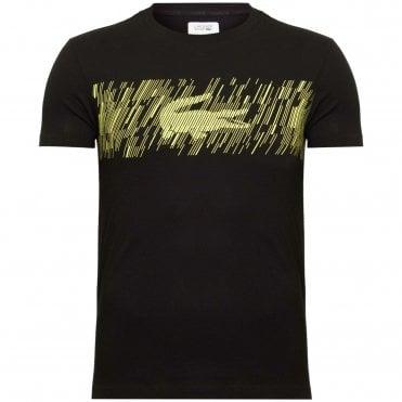 9167b2544f9e Lacoste Sport UltraDry T-Shirt με Στάμπα Κανονική Γραμμή