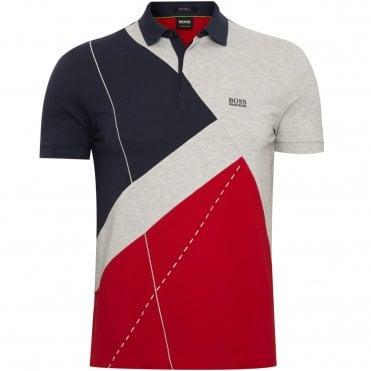 57ab16d8c4af BOSS Polo Μπλούζα Paddy 6 Κανονική Γραμμή
