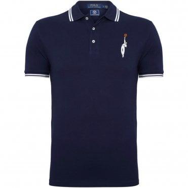 accfbc0b49d9 Ralph Lauren Wimbledon Polo Μπλούζα Πικέ Κανονική Γραμμή