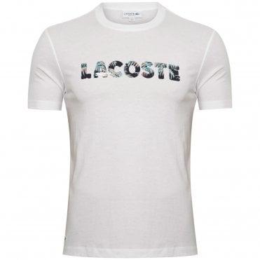 06f7a7dc54e0 Lacoste T-Shirt με Στάμπα Κανονική Γραμμή