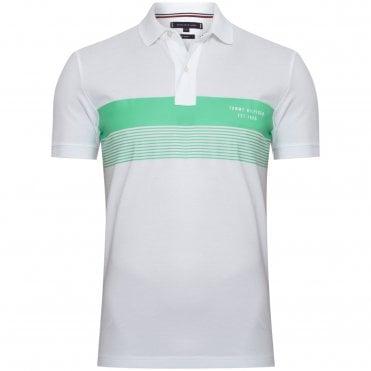 be8af98710b5 Tommy Hilfiger TJM Polo Μπλούζα Πικέ με Στάμπα Κανονική Γραμμή