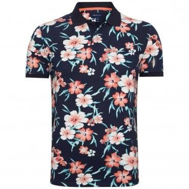 ec57f6b51548 Gant Polo Μπλούζα Floral Κανονική Γραμμή